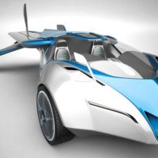 未来予想図の実現「空飛ぶ車」